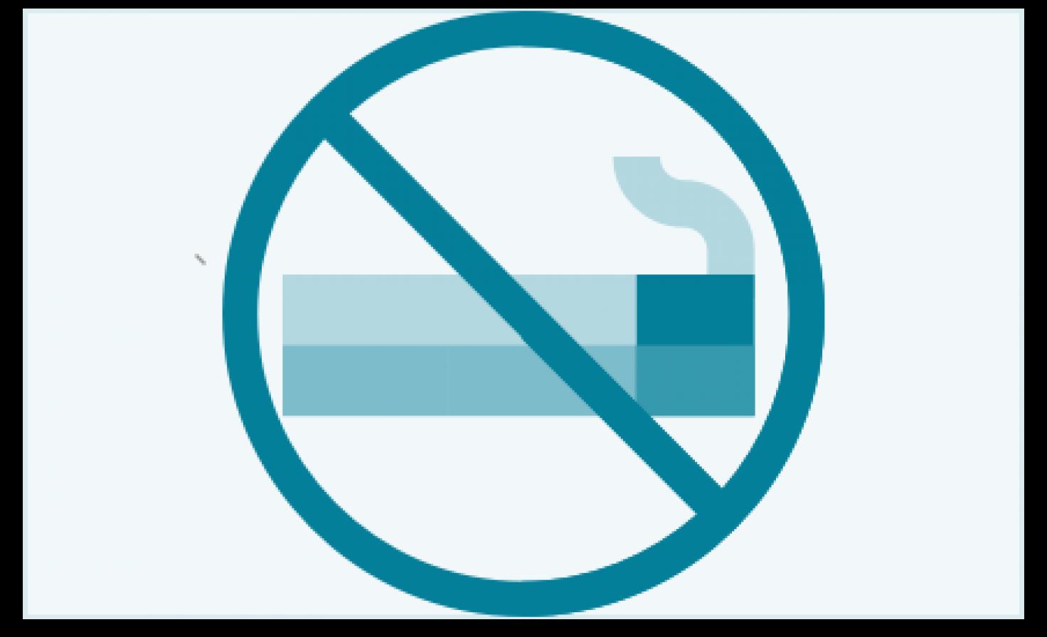 Darstellung Rauchverbot