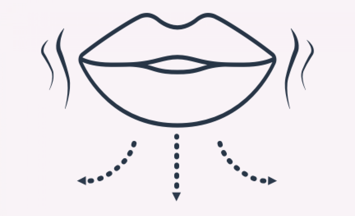 Schematische Darstellung Mund