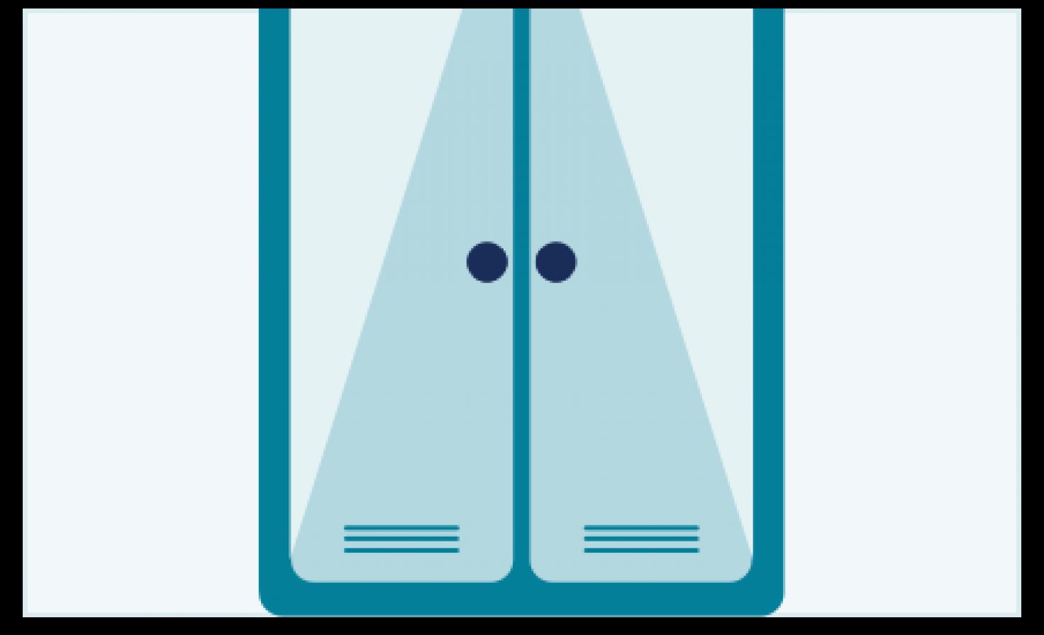Schematische Darstellung Sauerstofftank