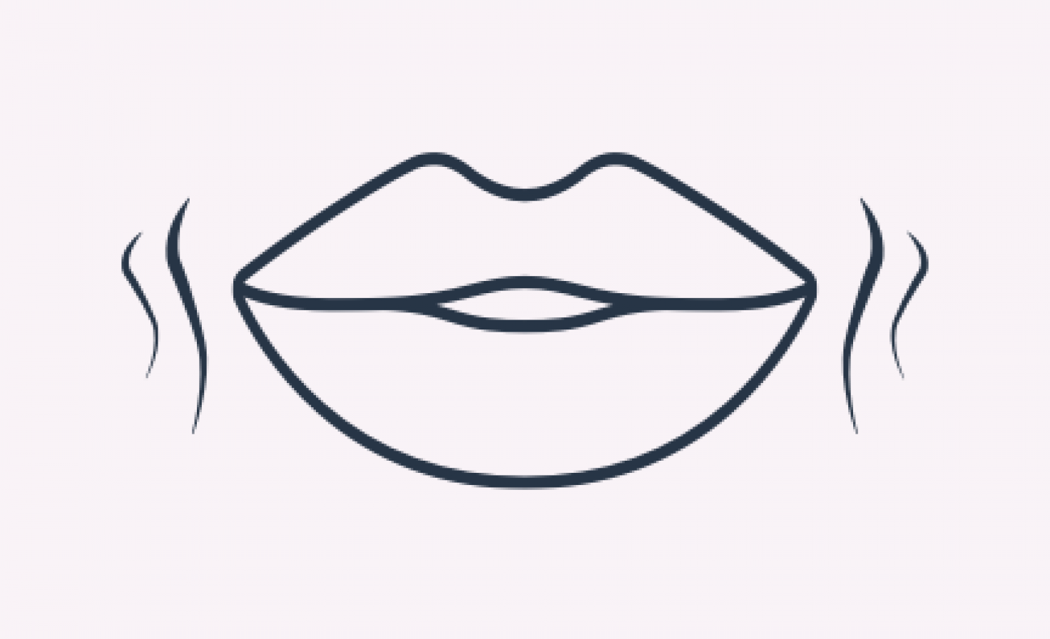 Diagram of lips