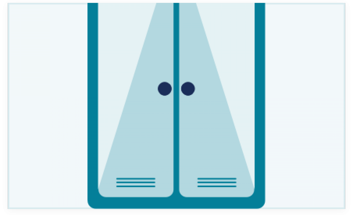 Diagram of a cupboard