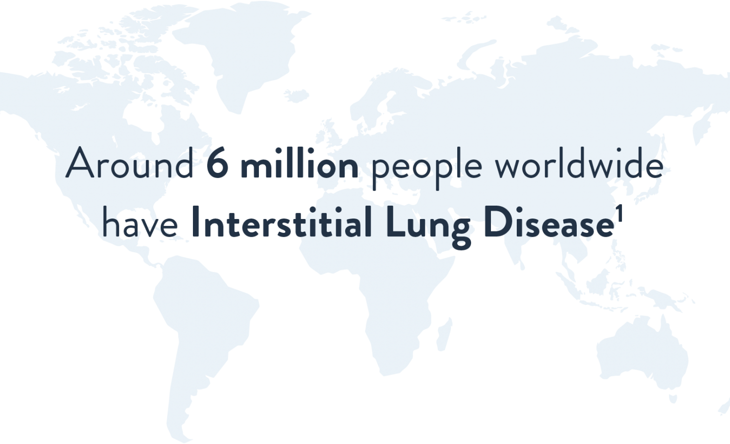 6 million people have ILD world map