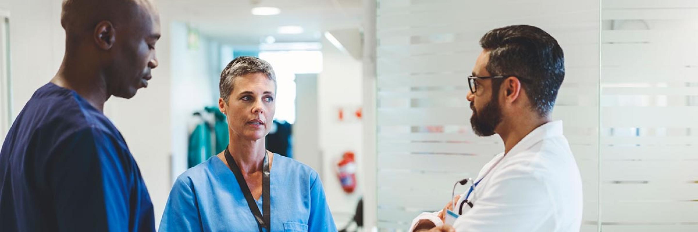 Doctors conversating